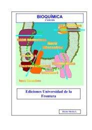 bioquímica - Facultad de Medicina UFRO - Universidad de La Frontera