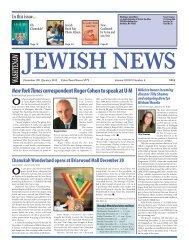 December 2011 / January 2012 - Washtenaw Jewish News