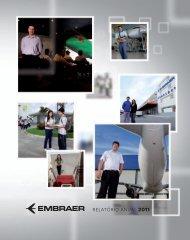 relatório anual 2011 - Embraer