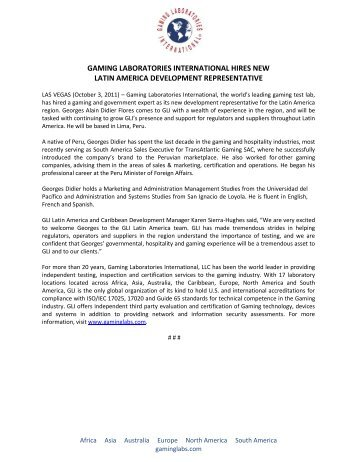 gaming laboratories international hires new latin america ...