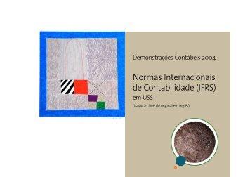 Normas Internacionais de Contabilidade (IFRS)