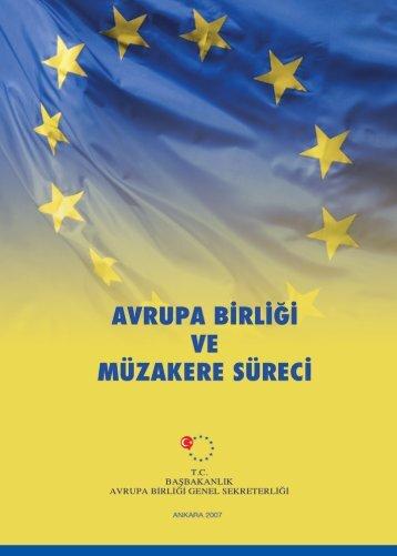 i Genel Sekreterli? - Avrupa Birliği Bakanlığı