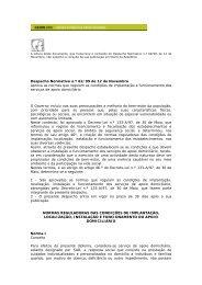 Despacho Normativo n.º 62/99 de 12 de Novembro Aprova as ...