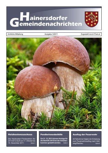 Gemeindezeitung 03-11 (1.007 KB) - Gemeinde Hainersdorf