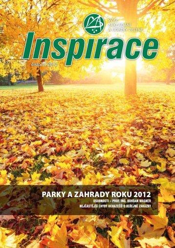 Inspirace 3/2012 - Svaz zakládání a údržby zeleně