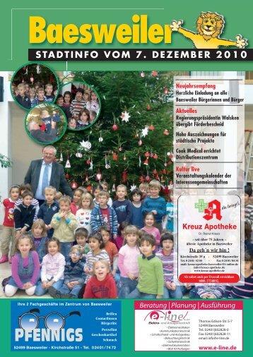 termine - Stadt Baesweiler
