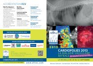 cardiofolies 2013 - AFVAC