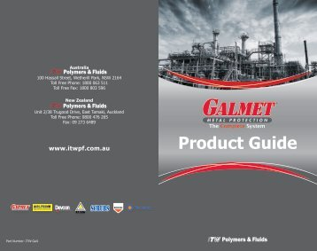 Product Guide - ITW Polymers and Fluids