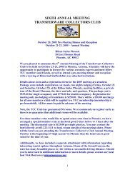 Complete Brochure - Transferware Collectors Club