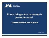 El tema del agua en el proceso de la planeación estatal. - Comisión ...