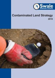 Contaminated Land Strategy - Documents - Swale Borough Council