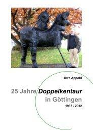 25 Jahre Doppelkentaur 1987-2012 - Brunnen - Denkmale - Kunst