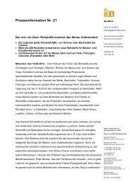 Presseinformation Nr. 21 - iba