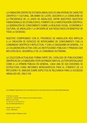 la fundación centro de estudios andaluces es una entidad de ...