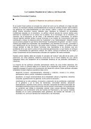 UNESCO, Cultura y Desarrollo, repensar las politica cultural.pdf