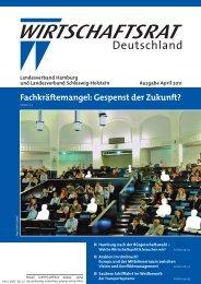Ausgabe April 2011 Landesverband Hamburg Und Landesverband