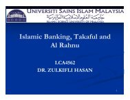 Corporate and Shariah Governance in Islamic Financial Institutions
