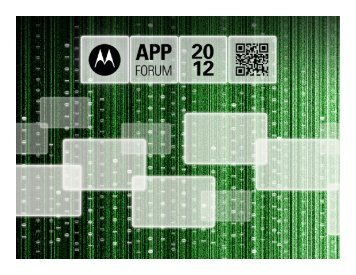 Event Attendee Tracker - Motorola Solutions LaunchPad Developer ...