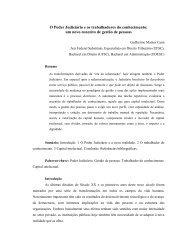 O Poder Judiciário e os trabalhadores do conhecimento - Tribunal ...