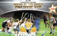 score by the shore field hockey camp - Stockton College