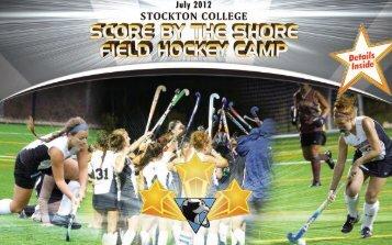 score by the shore field hockey camp - Stockton College