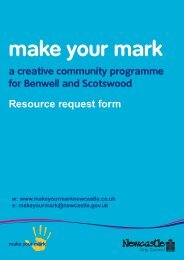 Download the resource request form - Newcastle City Council