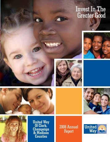 2008 Annual Report - The United Way of Clark, Champaign and ...