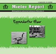 Mieter Report - Der Landesverband hamburgischer Mieterschutz eV