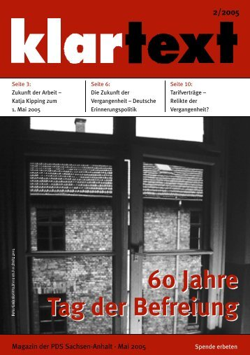 klartext 02/2005 - PDS Sachsen-Anhalt