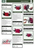 BENCH GRINDERS & BENCH SANDERS Contents - Gibb Tools - Page 3