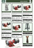 BENCH GRINDERS & BENCH SANDERS Contents - Gibb Tools - Page 7