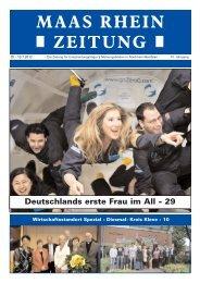 wirtschaftsst andort kreis kleve - Maas Rhein Zeitung