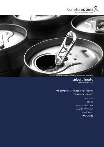 Fachbereich Wertstoff - Consilia Optima