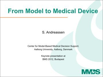 From Model to Medical Device