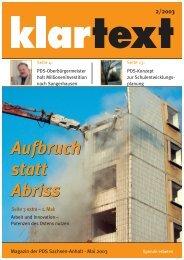 klartext 02/2003 - PDS Sachsen-Anhalt