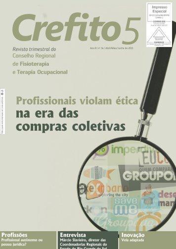 Revista Junho – n° 34 - Crefito5