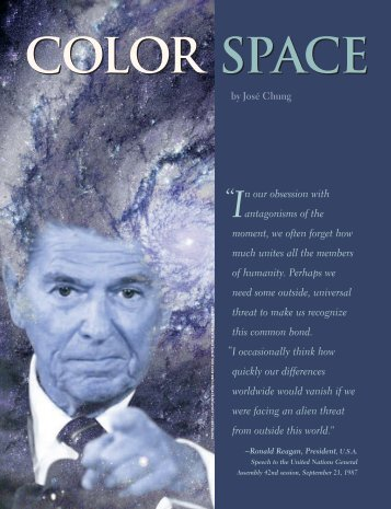 Color Space - Graphic Exchange magazine