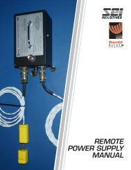 2009 Remote Power Supply Manual Cover.indd - SEI Industries Ltd.