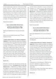 Resolução No. 01613 de 06 de maio de 2013 - Tribunal Regional ...