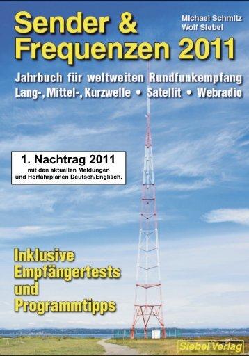 Nachtrag 1 - Sender & Frequenzen 2011