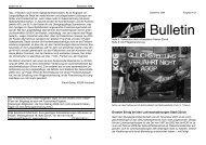Bulletins Nr 21 - Über die AGGP