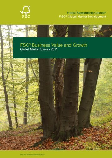 FSC® Business Value and Growth - Forest Stewardship Council of ...