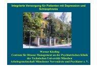 Integrierte Versorgung - Prof. Dr. Werner Kissling - Bildungswerk Irsee