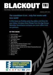 print friendly version - Triathlon New Zealand