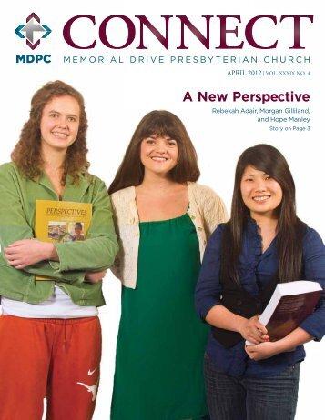 April - Memorial Drive Presbyterian Church