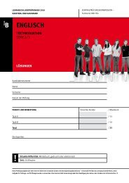 pdf 2010_Englisch_B_Serie ... - KV Schweiz