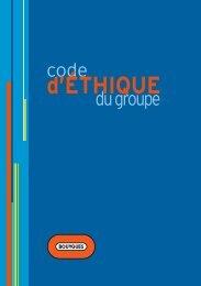 Code éthique - Bouygues Telecom