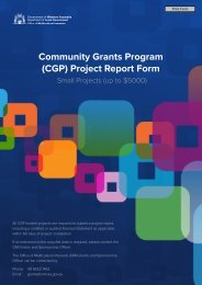 Project Report Form: Small Projects - Office of Multicultural Interests