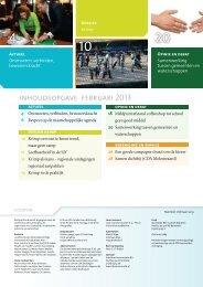 inhoudsopgave februari 2013 - CDA