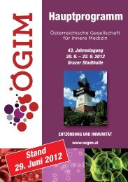 Programm Freitag, 21. September 2012 - bei MAW